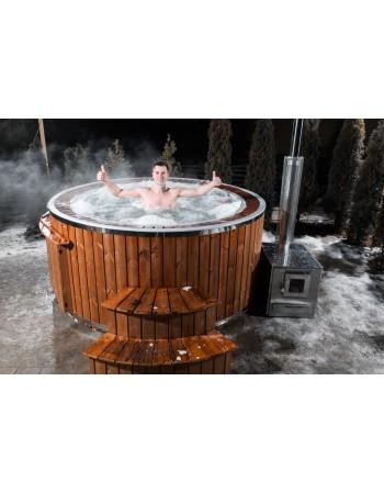 Гидромассажная ванна 190 см с системой перелива !!!