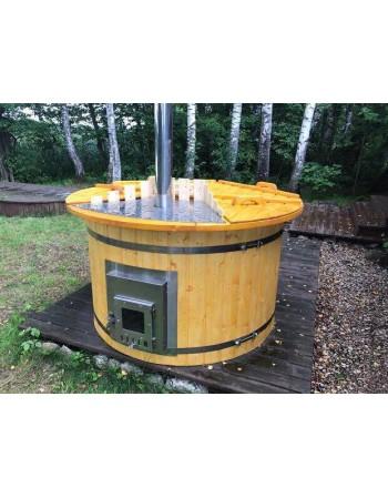 Гидромассажная ванна со встроенной печькой