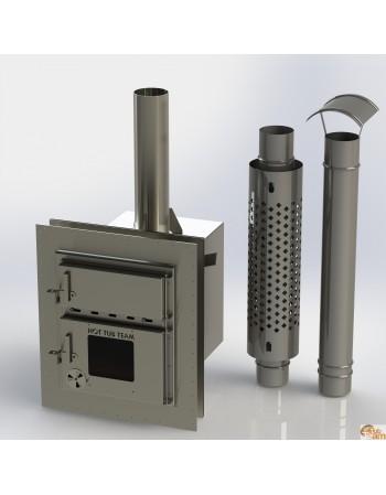 Интегрированная печь для пластиковой горячей ванны KKI NP-01