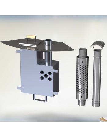Алюминиевая внутренняя печька KL al-60[10,6 KW]