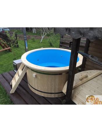 Пластиковая гидромассажная ванна 2м. диаметр