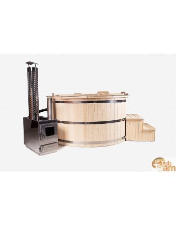 Купель деревянная еловая